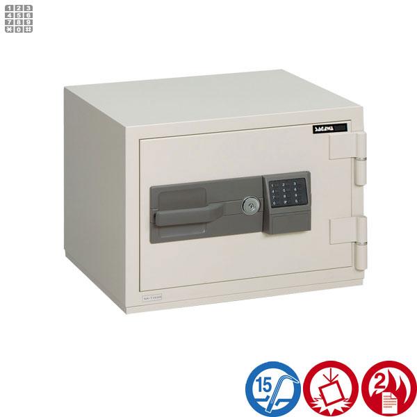 耐火金庫 PCシリーズ テンキー式サガワ SAGAWA HPC41T 容量22リットル
