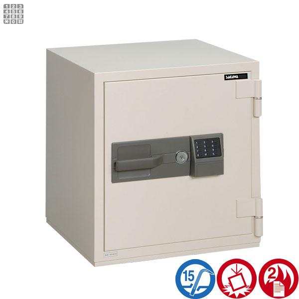 耐火金庫 PCシリーズ テンキー式サガワ SAGAWA HPC60T 容量50リットル