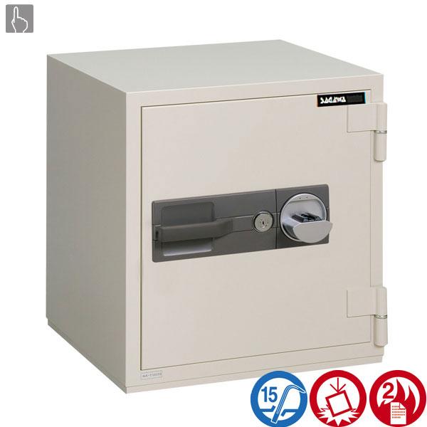 耐火金庫 PCシリーズ 指静脈照合式サガワ SAGAWA PC60V 容量45リットル