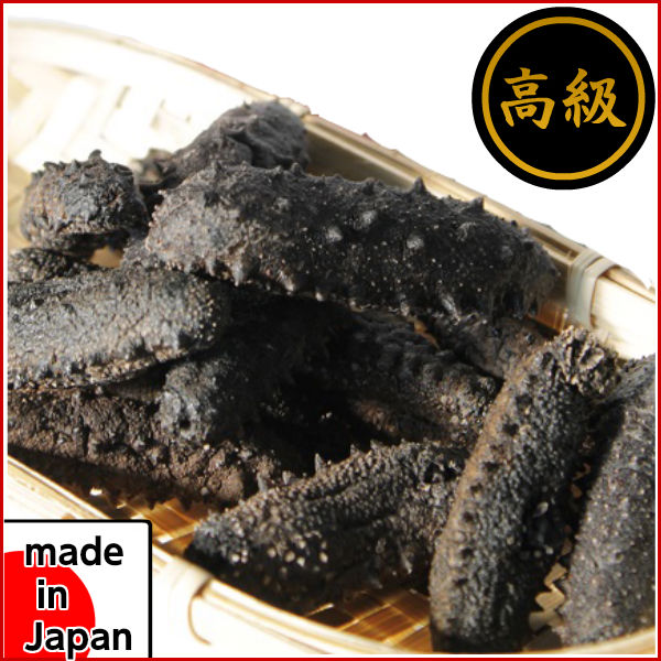 Natural dried sea cucumber 100 g (dried sea cucumber, sliced) OGA Akita