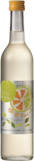 Shimane Winery yuzu wine 500 ml