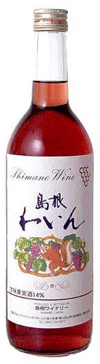 Shimane winery (sweet 14% red) 720 ml (10002197)