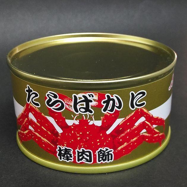 【かに缶】たらばかに 棒肉飾100g【6缶】【ストー缶詰】【北海道函館市】【かに缶詰】【蟹缶詰】【カニ缶】【取り寄せ】