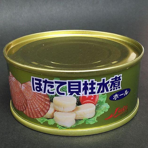 【帆立缶詰】ほたて貝柱水煮 ホール95g【24缶】【ストー缶詰】【北海道函館市】【取り寄せ】