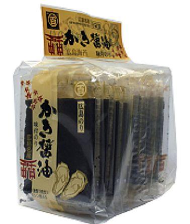 広島名産の牡蠣から採れた かきエキスたっぷりのかき醤油で味付けした香ばしい瀬戸の味付け海苔です 広島県広島市 創業明治18年 大注目 広島名物かき醤油味付のり8袋 定番 広島海苔