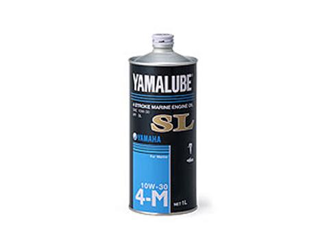 【ヤマハオリジナル】4ストローク 【YAMAHA/ヤマハ】YAMALUBE マリンオイルSL 10W-30 1L スチール缶