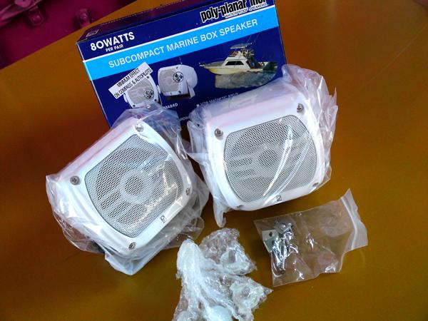 ポリプランナー防水スピーカーボックス MA840