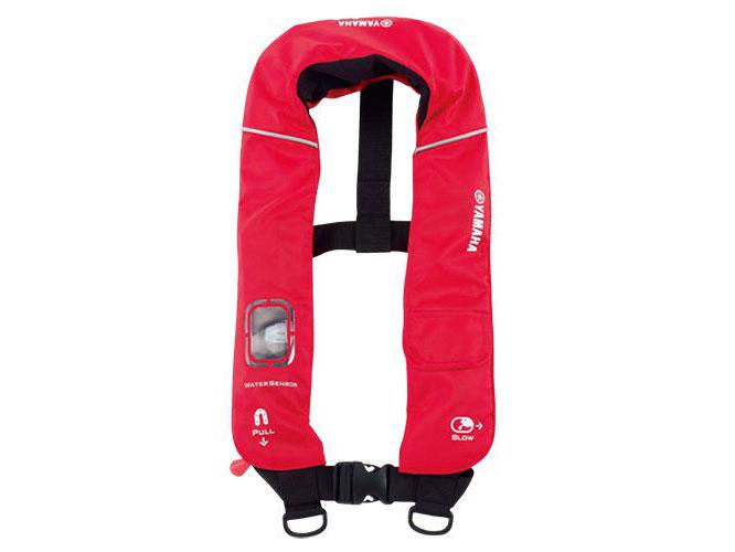 YVA-2015 水感知膨脹式ライフジャケット レッド