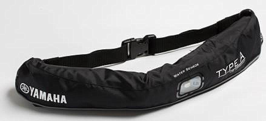 水感知膨脹式ライフジャケット ウエストベルト YWW-5620 ブラック