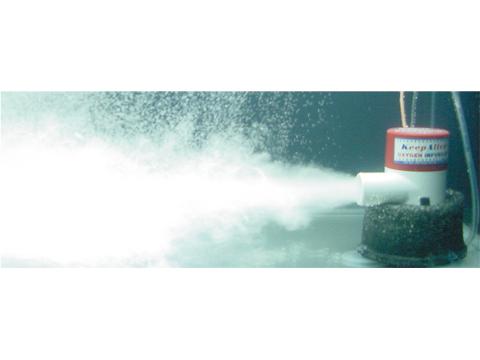 ライブウェルキット 吸盤固定式(吐出量74L/分) NO.22329