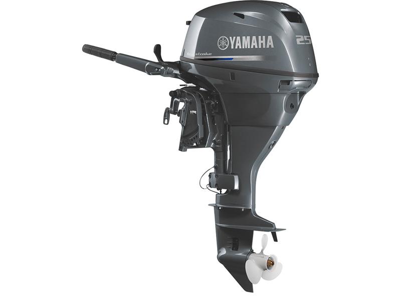 【ヤマハ発動機/YAMAHA】4ストロークモデル船外機 F25DWHDL