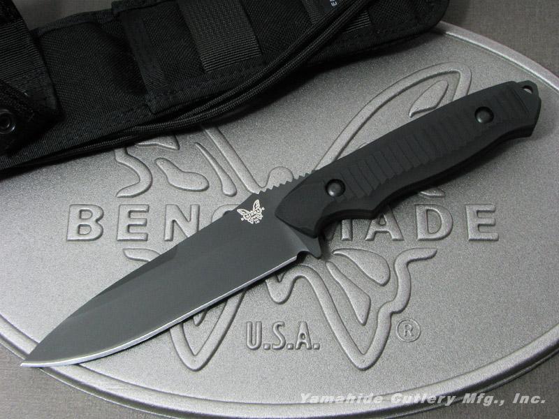 BENCHMADE/ベンチメイド #140BK ニムラバス 154CMブレード/直刃