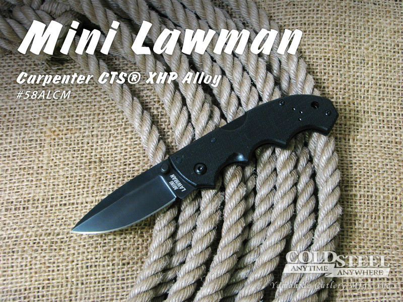 安い COLD Lawman Mini #58ALCM STEEL/コールドスチール #58ALCM Mini Lawman ミニ・ローマン, 安塚町:e3f40954 --- supercanaltv.zonalivresh.dominiotemporario.com