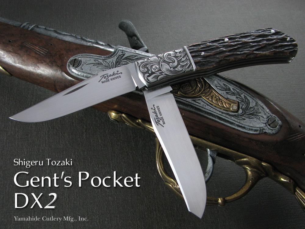 戸崎茂 作 Gent's Pocket DX2/ジェンツ・ポケットDX2【お取寄せ】