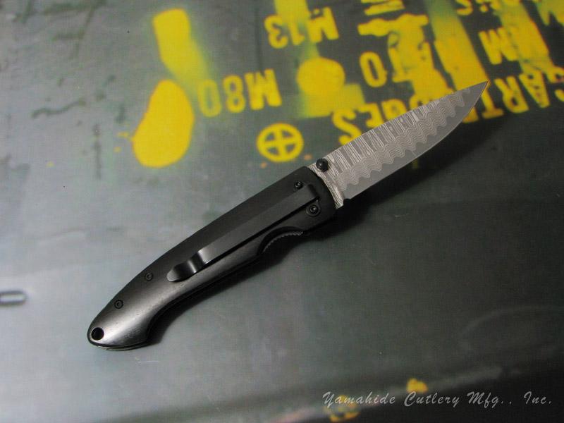 BOKER Plus/ボーカー プラス #01BO101DAM ダマスカス・ジェント1 折りたたみナイフ