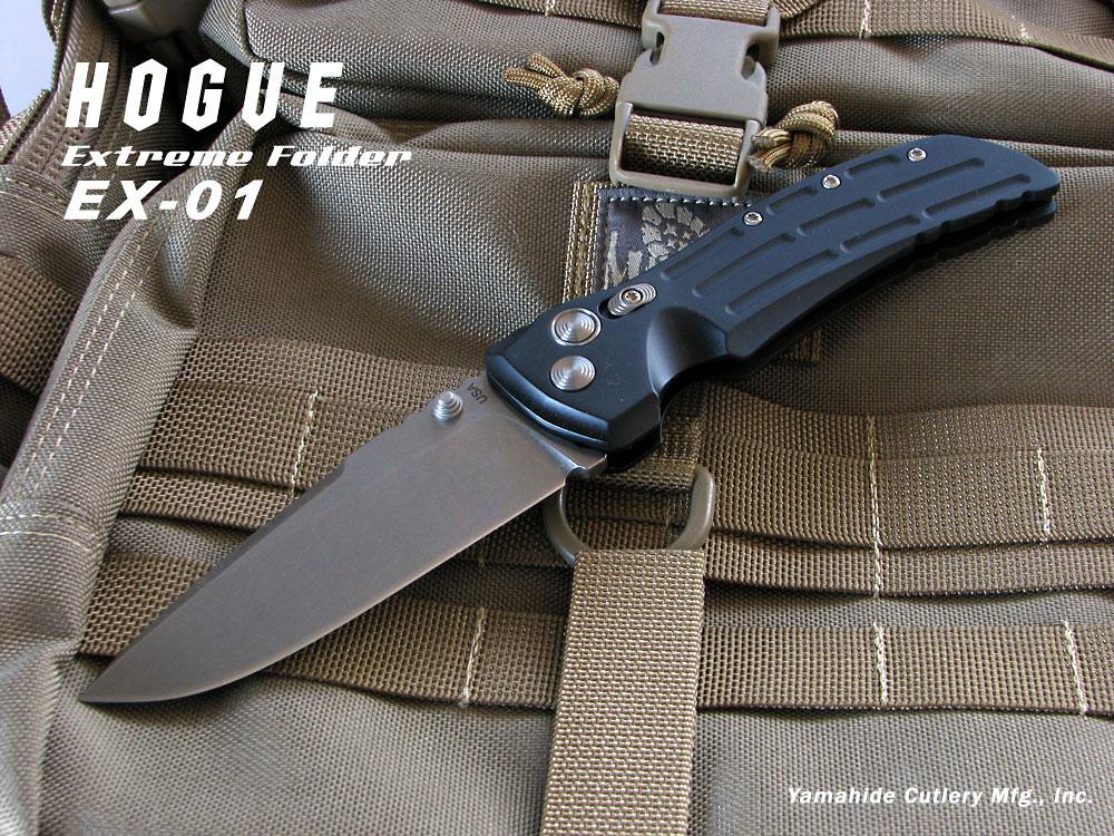 HOGUE/ホーグ #34150HOG-EX01-50/EX01ドロップポイント/タンブラー仕上 マットブラックAL