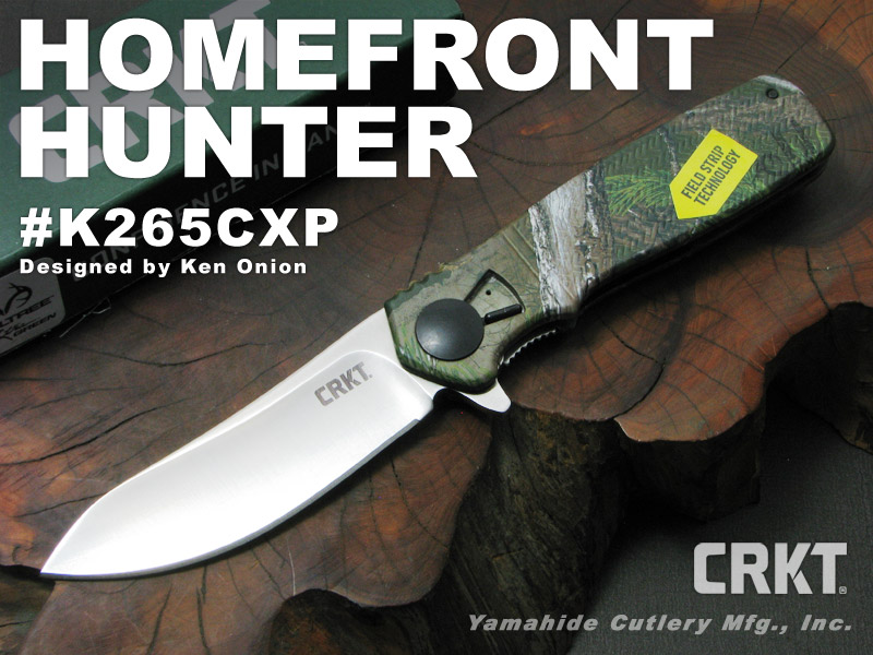 CRKT/コロンビアリバー #K265CXP HOMEFRONT HUNTER ホームフロント ハンター 折り畳みナイフ