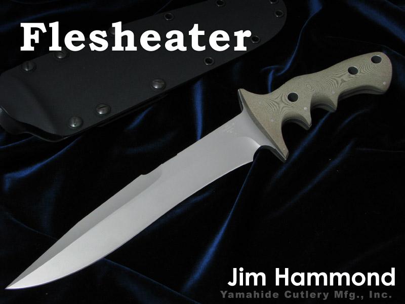 Jim Hammond/ジム・ハモンド Flesheater フレッシュイーター シースナイフ