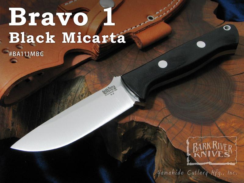 独特の素材 Bark Bark ブラボー1/A2 River/バークリバー #BA111MBC 1 Bravo 1 Black Micarta ブラボー1/A2 ブラックキャンバスマイカルタ シースナイフ, フラダンス トーチジンジャー:a7fefffb --- business.personalco5.dominiotemporario.com