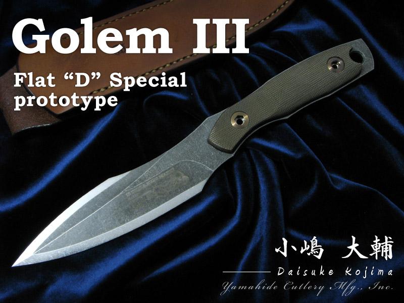 """上品な 小嶋 Flat Golem 大輔/Daisuke Kojima Golem III (prototype) """"D"""" Flat """"D"""" Special ゴーレム3 シースナイフ, ヌマタチョウ:f5a315b9 --- business.personalco5.dominiotemporario.com"""