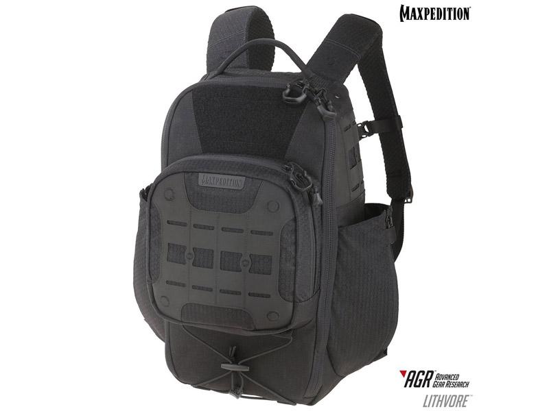 マックスペディション LTHBLK リスボア バックパック 17L AGR/ブラック MAXPEDITION Lithvore Backpack 17L