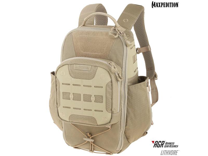 マックスペディション LTHTAN リスボア バックパック 17L AGR/タン MAXPEDITION Lithvore Backpack 17L