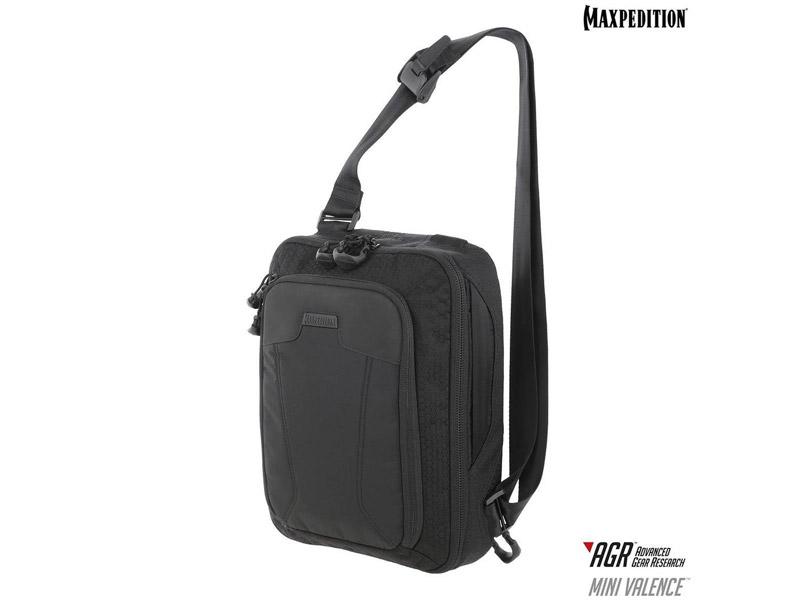 マックスペディション MVLBLK ミニ バランス スリング 7L AGR/ブラック MAXPEDITION Mini Valence Tech Sling Pack 7L