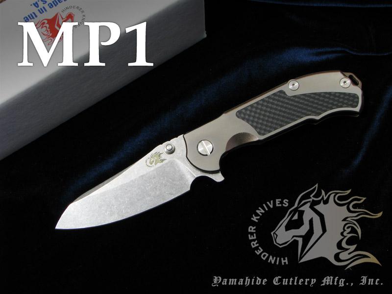 リックヒンダラー K2008STSBR MP-1 /チタン,カーボン 折り畳みナイフ