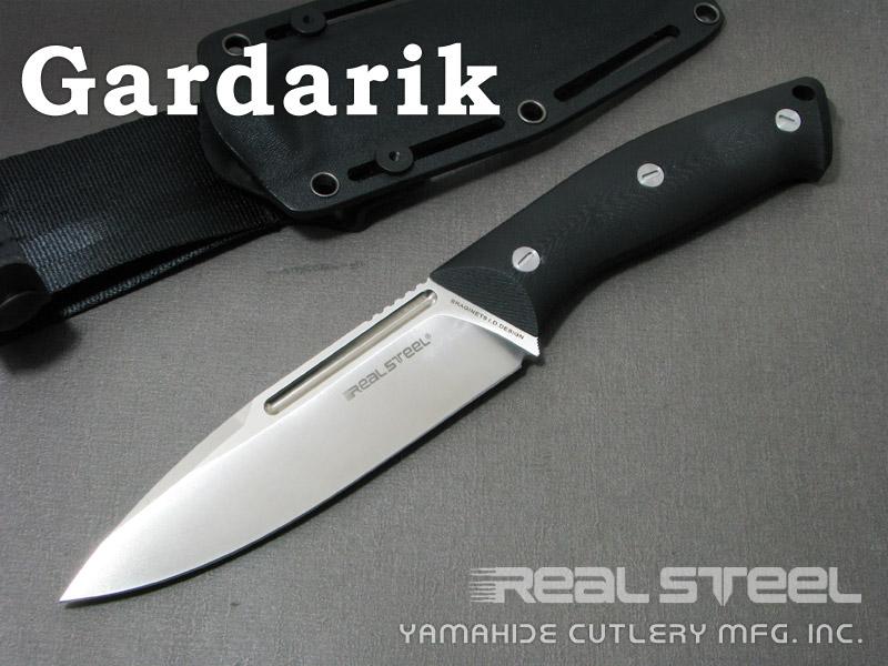 Real Steel/リアルスチール #3736 ガルダリク Gardarik シースナイフ