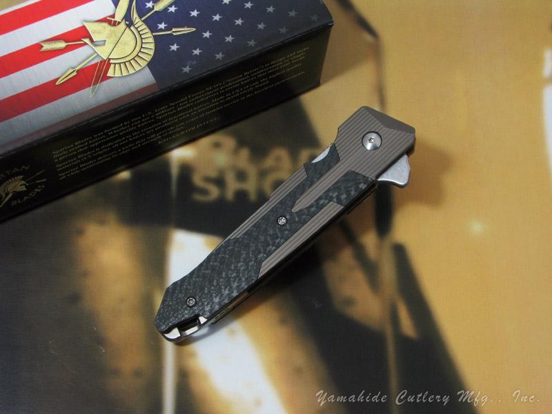 スパルタン SF6SWBZCF クラノス /ブロンズ 折り畳みナイフ,Spartan KRANOS