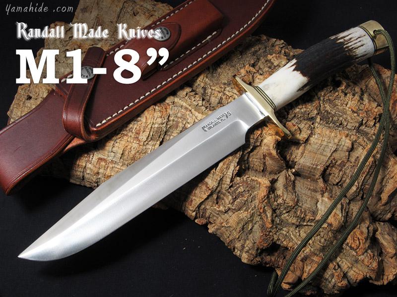 アンマーショップ Model スタッグ ステンレス ランドール Fixed シースナイフ/Randall 1-8 モデル1-8