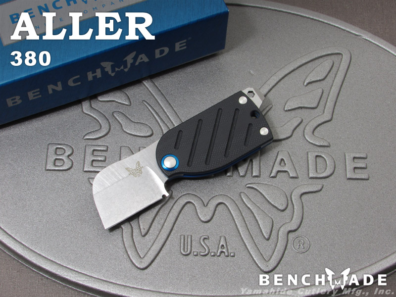 ベンチメイド 380 アラー 折り畳みナイフ,BENCHMADE ALLER folding knife