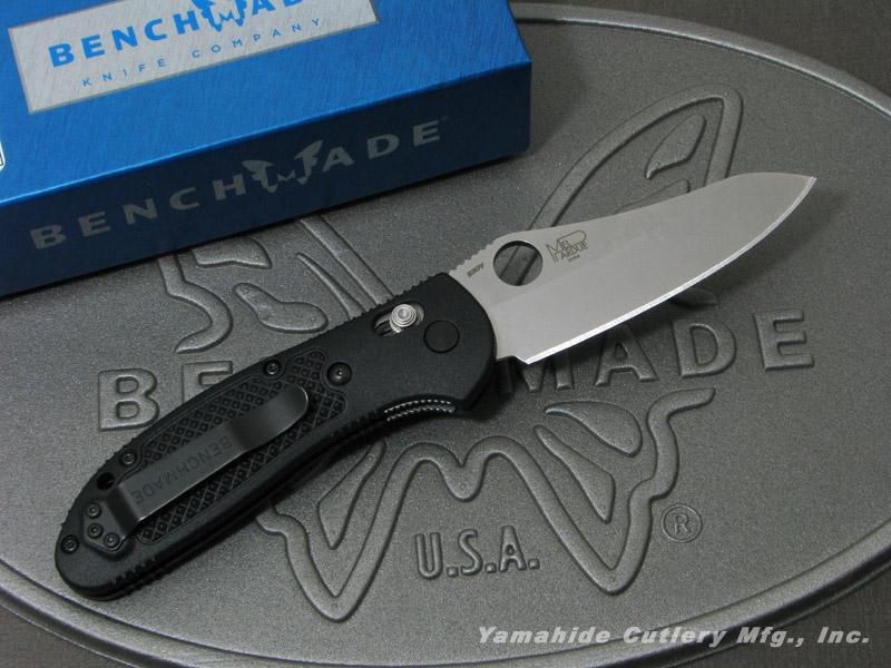 ベンチメイド 550-S30V グリップティリアン S-30V シルバー直刃/サムホール ,折り畳みナイフ ,BENCHMADE Griptilian, オカモク 740a9692