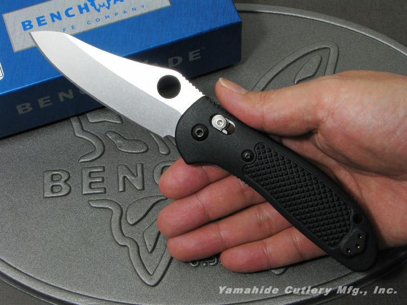 ベンチメイド 550-S30V グリップティリアン S-30V シルバー直刃/サムホール ,折り畳みナイフ ,BENCHMADE Griptilian