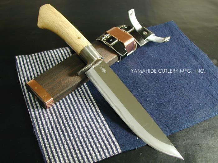 レッドオルカ 剣鉈 白紙割込 6寸(180mm) 磨き