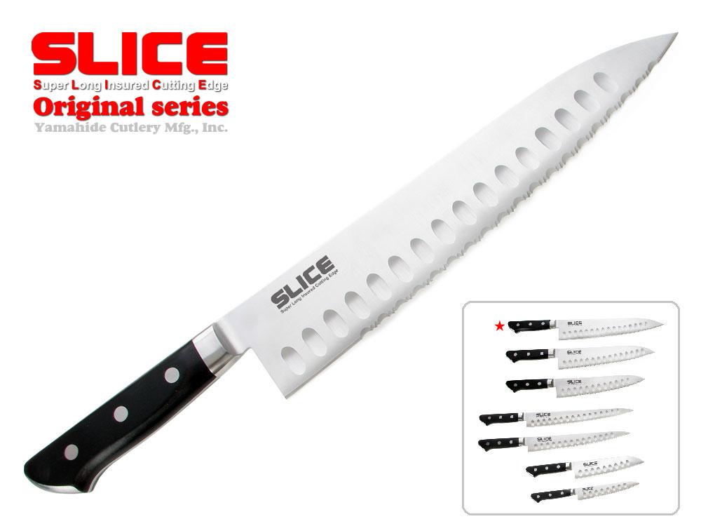 SLICE ブランド庖丁 スライス波刃 牛刀 270mm