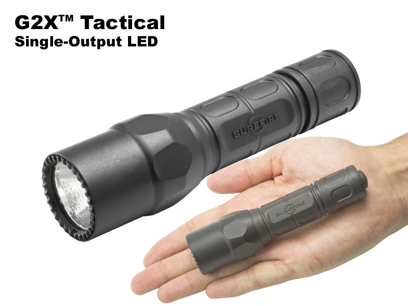 SUREFIRE/シュアファイア G2X-C-BK Tactical LED 320ルーメン