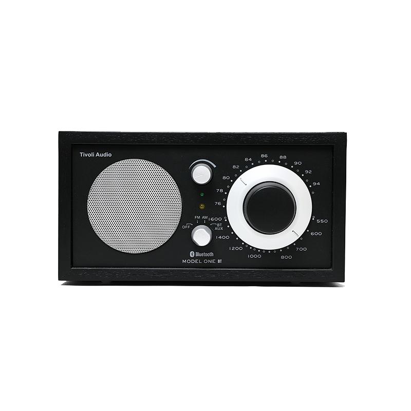 Tivoli Audio Model One BTブラックモデル(ブラック)ラジオ・スピーカー 【チボリオーディオ デザイン家電 ワイドFM対応 ラジオ ブルートゥース スピーカー レトロ 北欧 インテリア チボリ オーディオ モデルワン ビーティー】