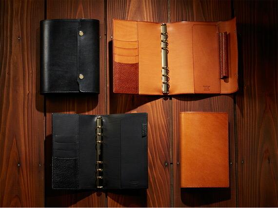 雑誌で紹介された ノックス KNOX オーセン バイブルサイズ AUTHEN 日本製システム手帳 バインダー b6 カバー 革製品 本革, シラカワシ f7956d7e