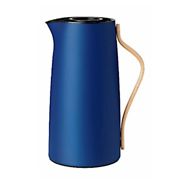 Stelton EMMA バキュームジャグ コーヒー メタリックダークブルー 公式通販 豊富な品 エマ ステルトン