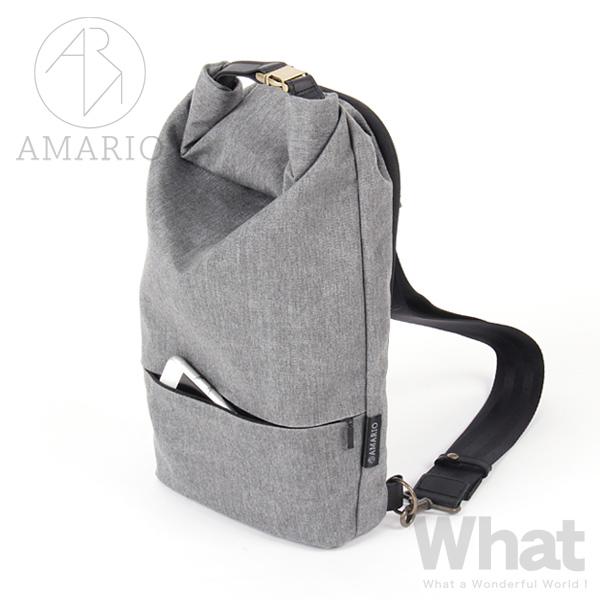 《全5色》AMARIO crum BB ボディバッグ 【アマリオ カメラバッグ body bag ワンショルダー 斜め掛け シンプル デザイン BAG カバン タブレット 収納 クルム】