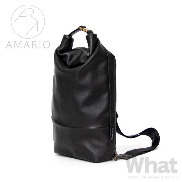 AMARIO crum BB -WPL- body bag 防水レザー ボディバッグ 【アマリオ カメラバッグ body bag ワンショルダー 斜め掛け シンプル デザイン BAG カバン タブレット 収納 クルム ウォータープルーフレザー】