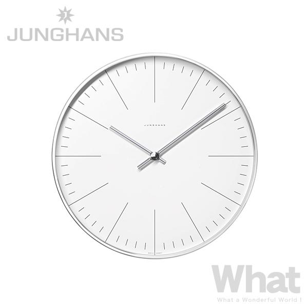 《全2種》JUNGHANS Max Bill wall clock 22cm 【ユンハンス マックスビル 掛け時計 掛時計 ウォールクロック デザイン雑貨 インテリア リビング シンプル 数字 ライン number/line ユングハンス ドイツ】