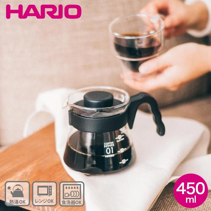 450 ml of V60 coffee server HARIO (Hario) VCS-01B