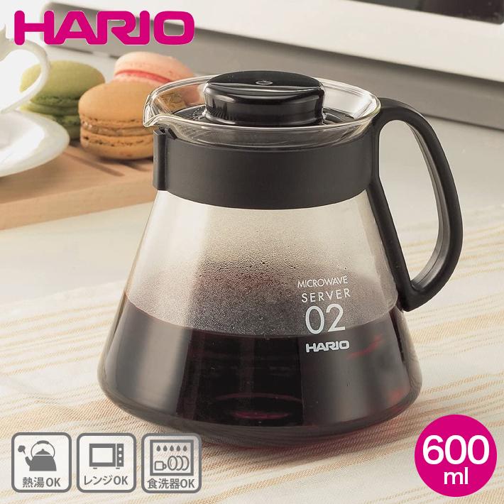 V60 系列伺服器 600 毫升 (咖啡壺) HARIO (hario) XVD 60B 居橋居橋 02P03Dec16