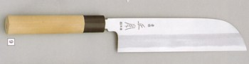 *Original shall be none the worse for it haze ball white steel Kamagata thin blade kitchen knife 18cm      ☆fs3gm