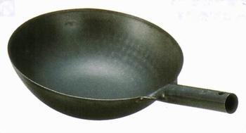 * Institute of Yamada iron uchidehama China pot with one hand 36 cm ( 1.2 mm thick ) Rakuten Japan sale