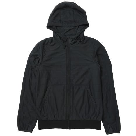★エントリーでポイント5倍!snow peak スノーピーク Flexible Insulated Hoodie/Black/M SW-16SU001
