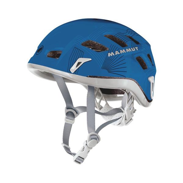 Mammut(マムート) Rock Rider/dark cyansmoke(5941)/56-61cm 2220-00130男女兼用 ブルー ヘルメット トレッキング 登山 アウトドアギア