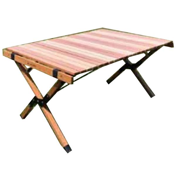 ANOBA アノバ) ウッドロールトップテーブル AN005アウトドアギア ローテーブル レジャーシート おうちキャンプ